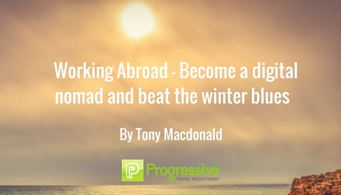 working abroad become a digital nomad