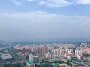 Progressive Travel Recruitment. View of Pyongyang from Juche Tower