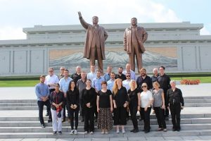 North Korea. Progressive Travel Recruitment. Mansu Hill Grand Monument, Pyongyang