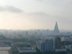 North Korea. Progressive Travel Recruitment. View of Pyongyang from Juche Tower
