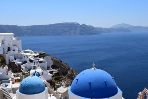 Greek island holiday travel recruitment blog image