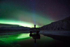 1. Northern lights holiday