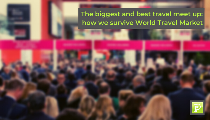 how to survive WTM world travel market London progessive travel recruitment travel jobs hospitality jobs uk blog
