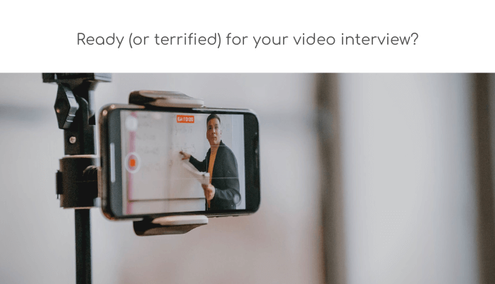 Ready for your video interview?